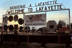 1978: Première visite à Lafayette