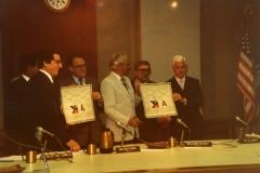 1982: Un nouvel engagement signé en terre Louisianaise