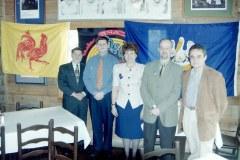 1998: Mission préparatoire des Fêtes de Wallonie en Louisiane