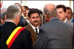 2005: Des membres du Conseil de Lafayette aux fêtes de Wallonie