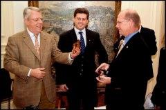 2005: Visite du Maire de Lafayette à Namur