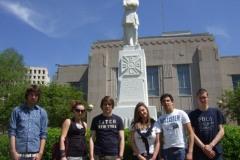2010: Six jeunes ambassadeurs namurois à Lafayette