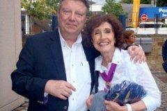 2011: Visite de la Présidente du Jumelage Lafayette -Namur