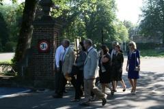 2012: Venue d'une délégation de Lafayette à Namur
