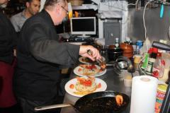 2012: Visite à Namur de Michael Richard, chef cuisinier à Lafayette