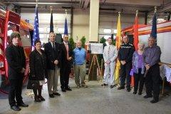 2013: Cérémonie du 11 septembre à la Caserne des Pompiers à Namur