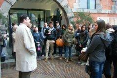 2013: Visite du Parlement wallon à Namur